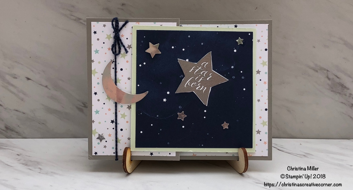 Little Twinkle Fun Fold Card