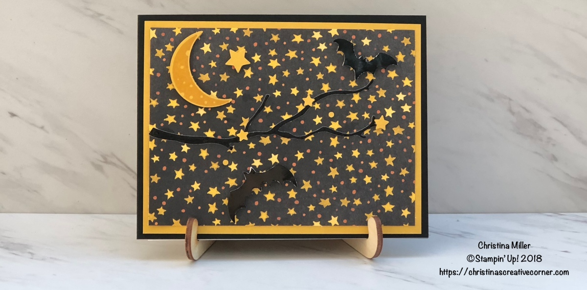 A starry night for Halloween