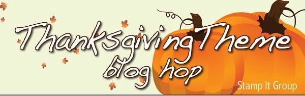 Thanksgiving Blog Hop-October 2020