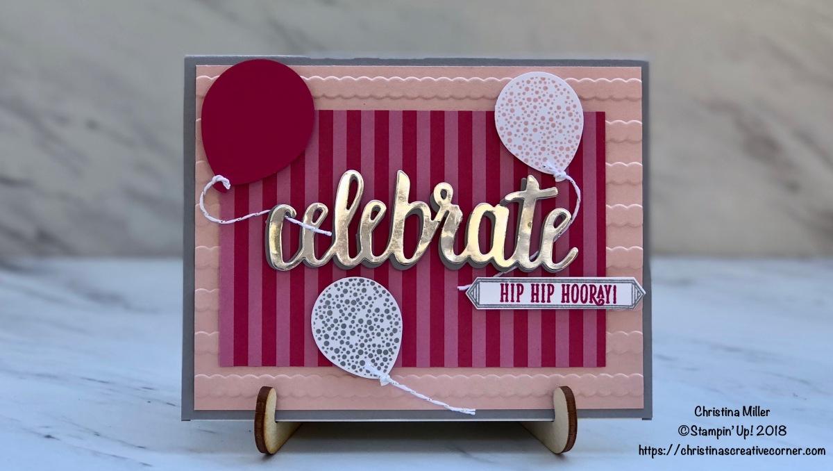 Fun and easy Birthdaycard!