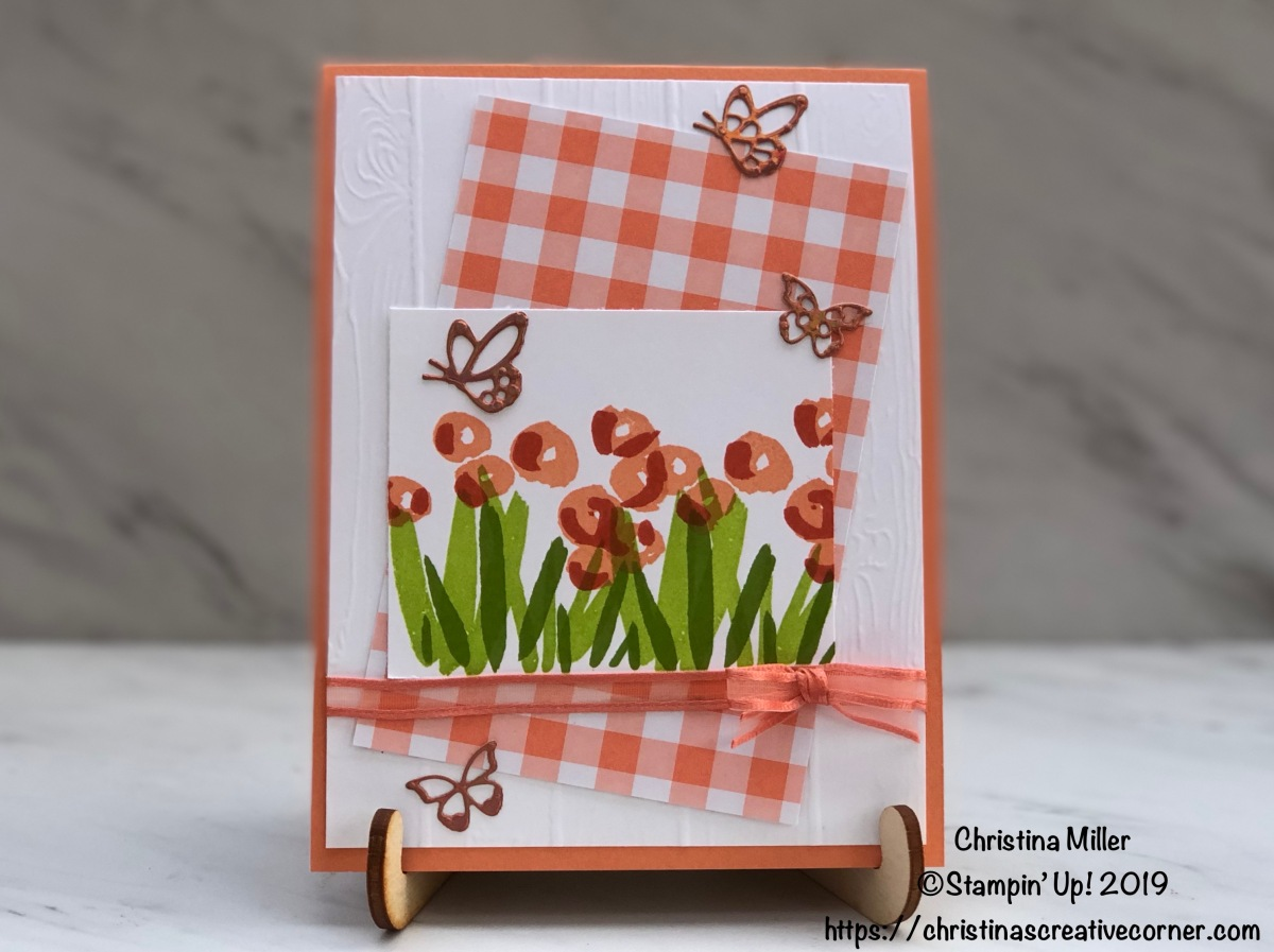 Sweet springtime card with Grapefruit Grove