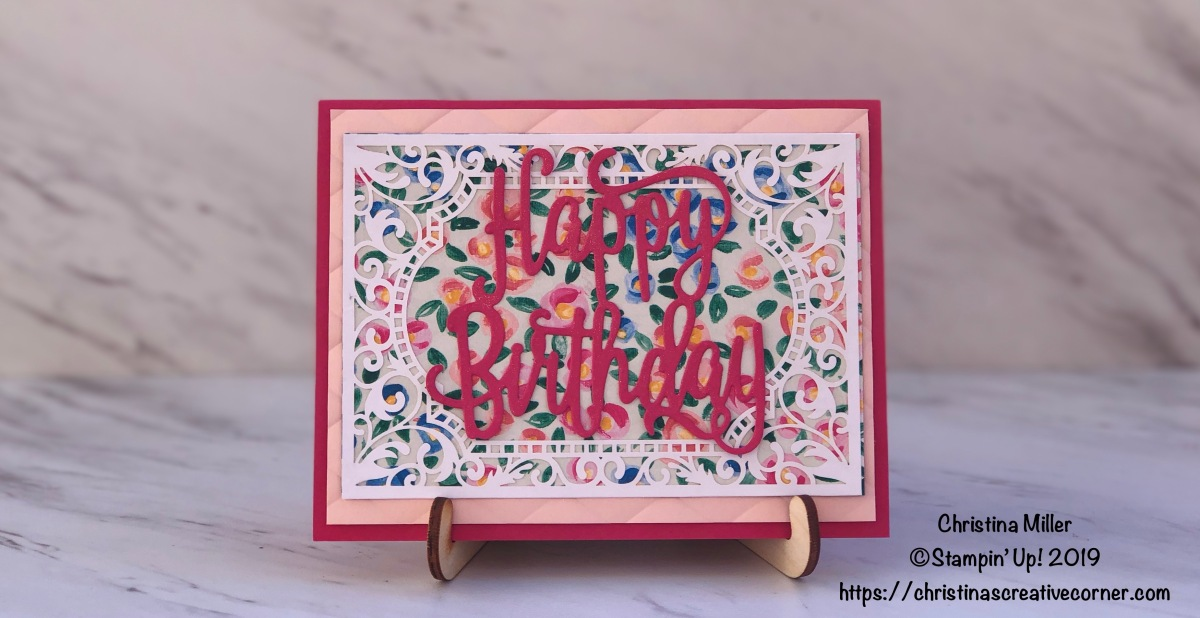 Make a fun birthday card in a snap!