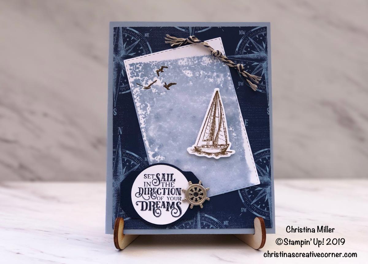 Congratulations card with SailingHome