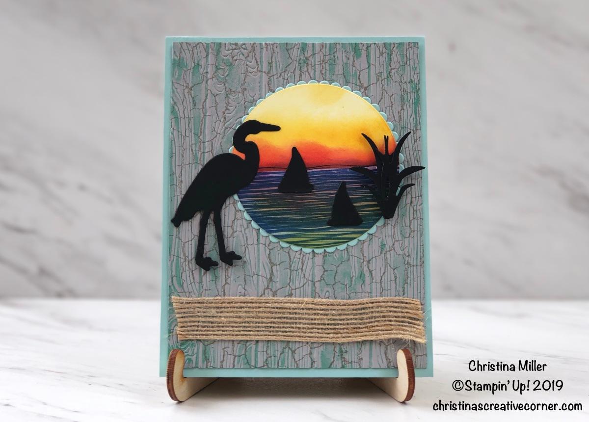 Lilypad Lake silhouettecard