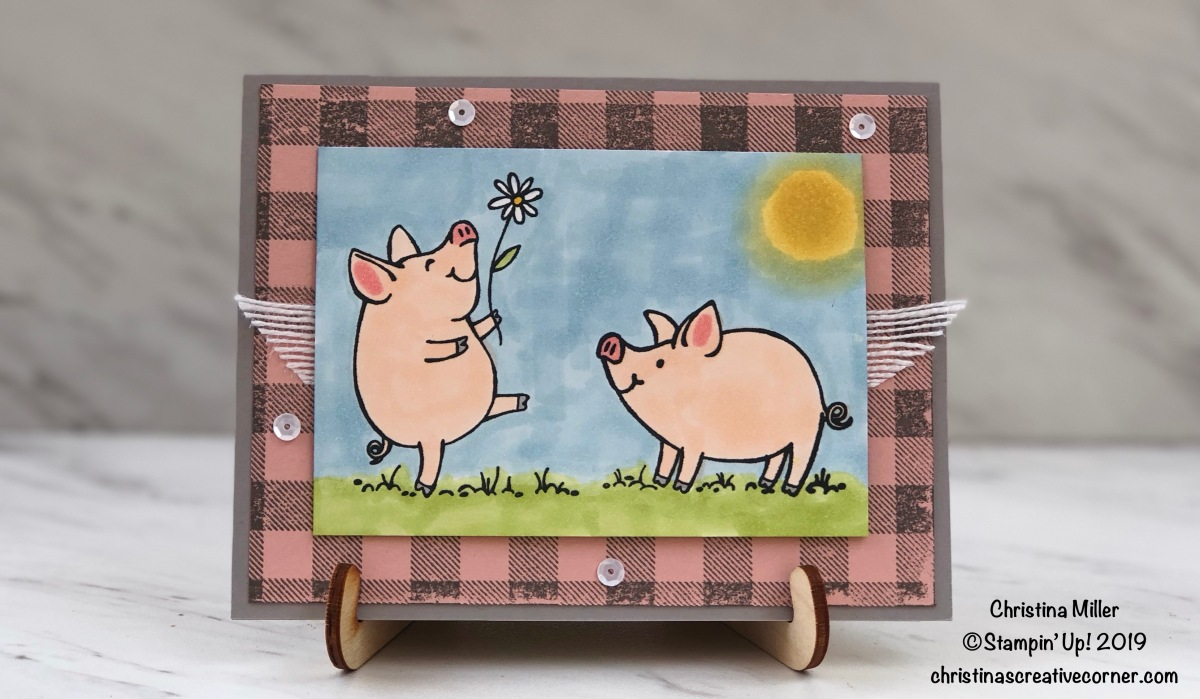 This Little Piggy birthday card!