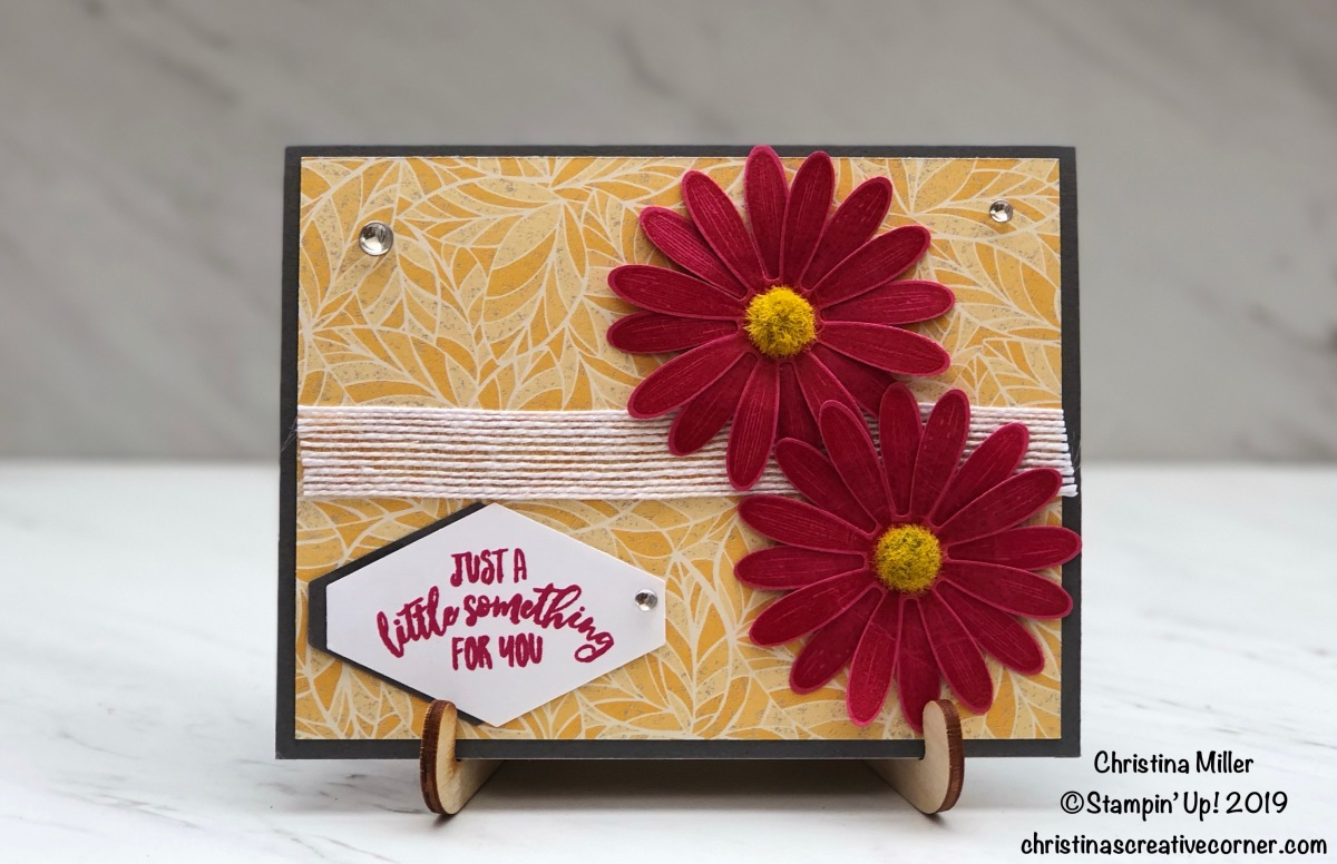 Delightful Day and Daisy Lane card