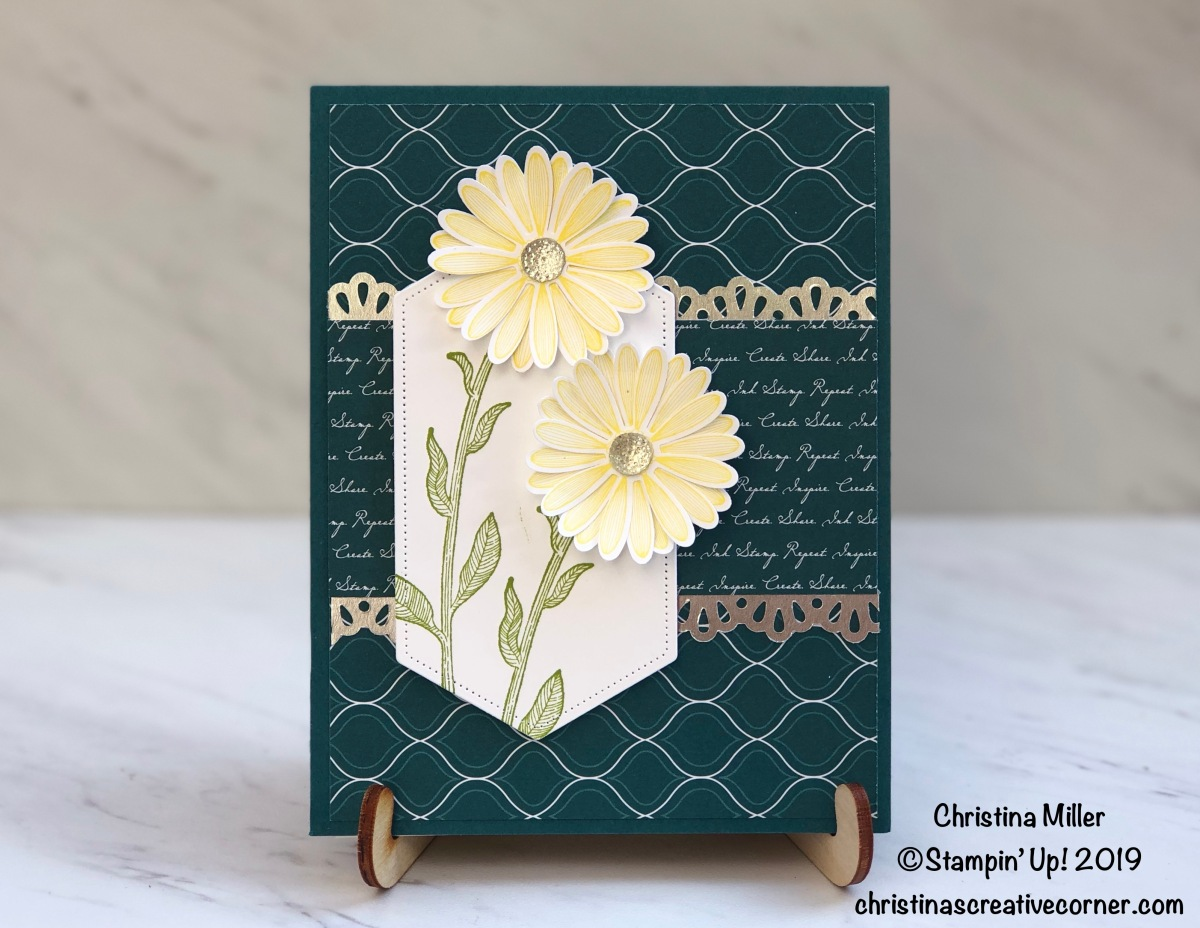Sweet and simple card with the Daisy Lane Bundle