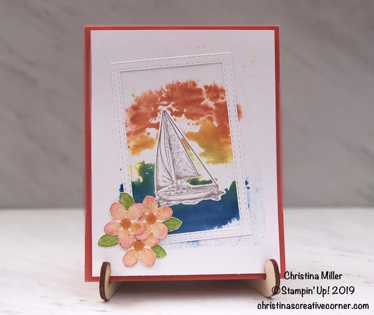 Tropical Sailing Home card
