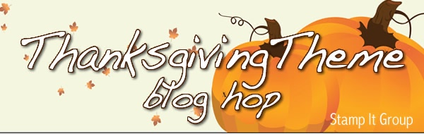 Thanksgiving Theme Blog Hop!