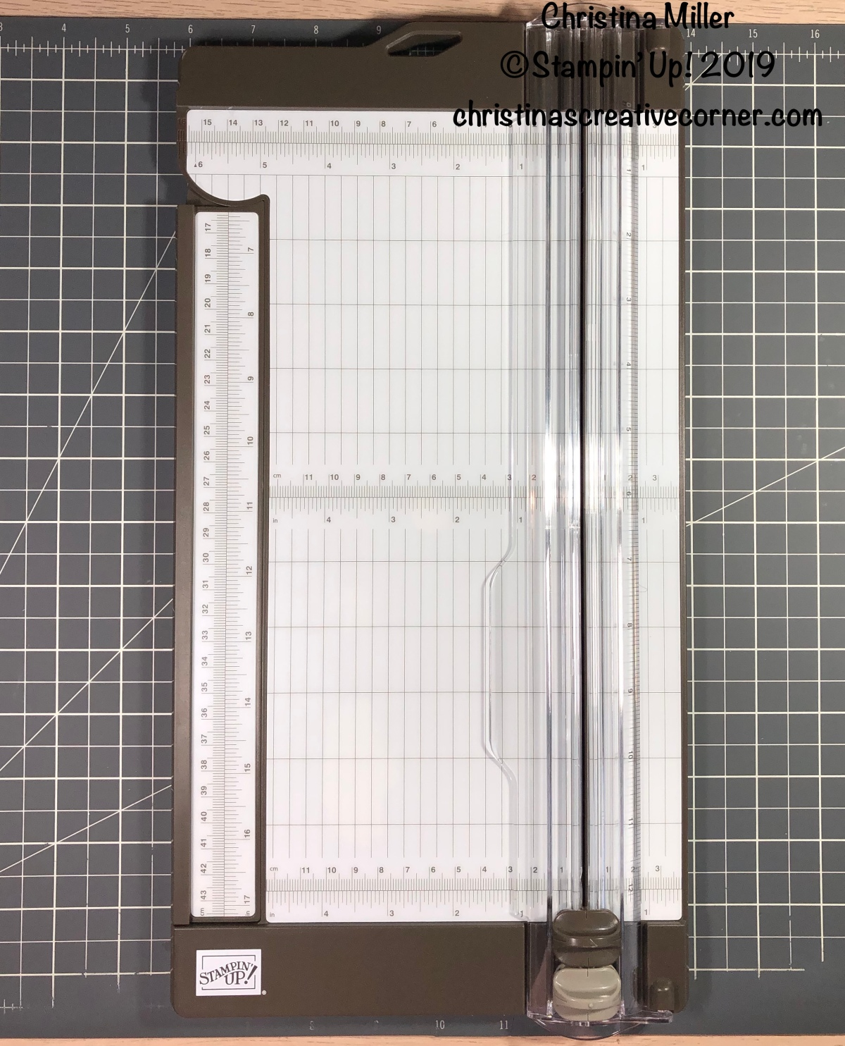 The new Paper Trimmer by Stampin' Up!
