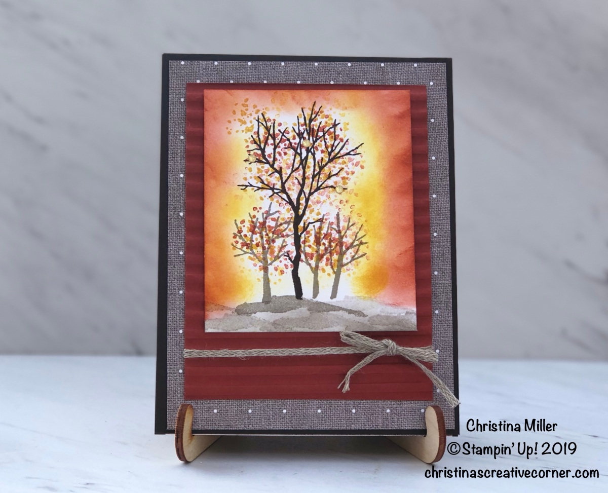 Fall foliage card!