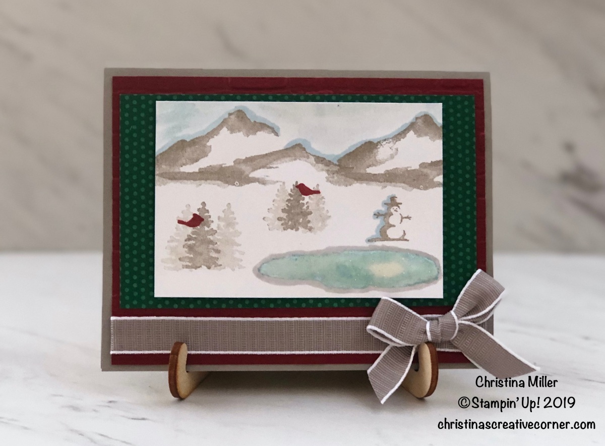 Add a little shimmer and texture to your card!
