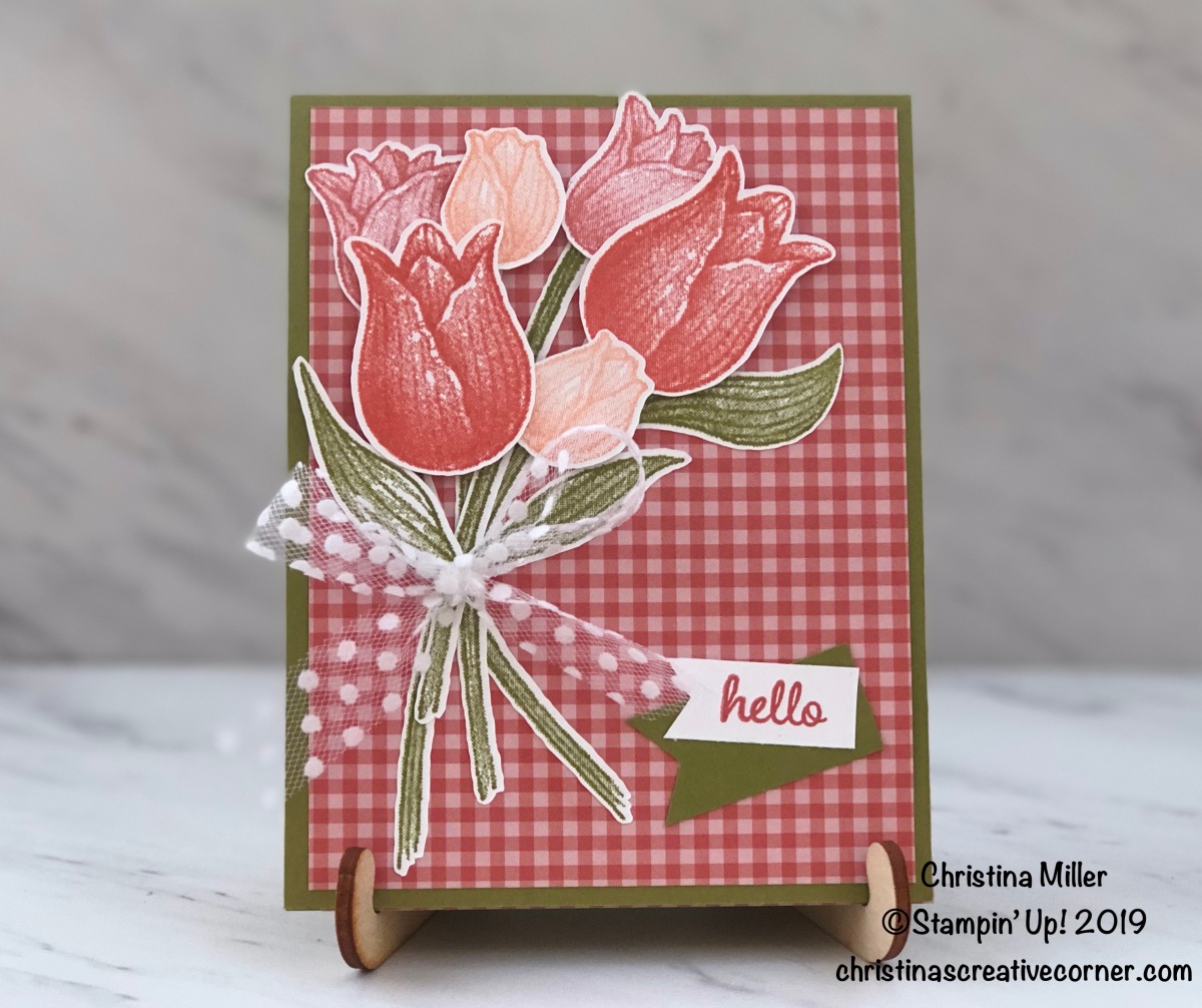 Timeless Tulips Get WellCard