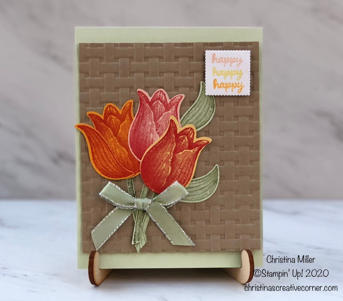 Happy Tulip Card!