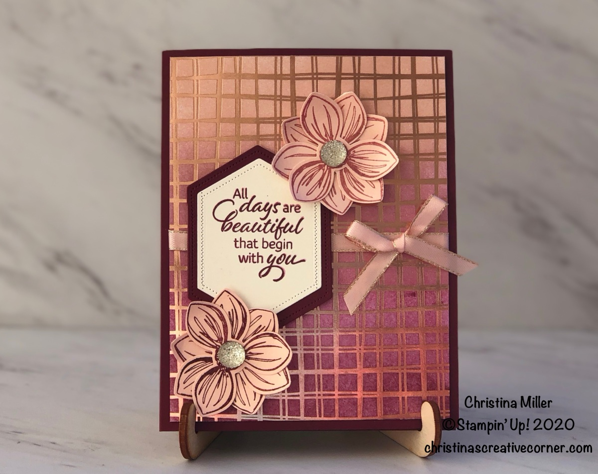 Floral Essence with Flowering Foils Designer Series Paper!