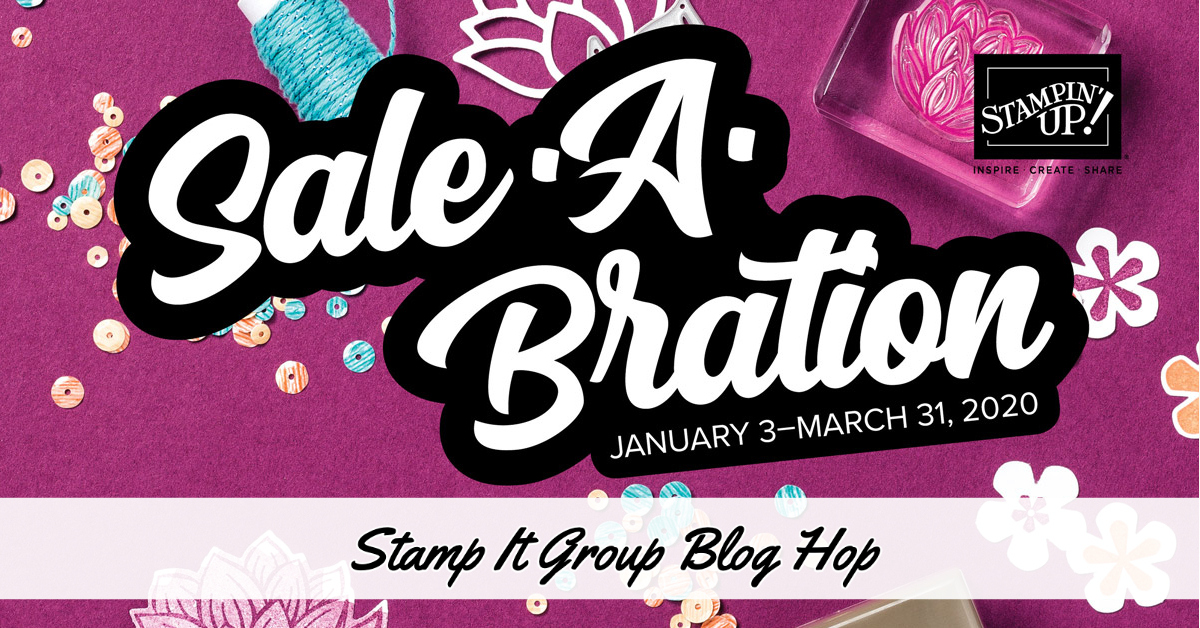 Sale-A-Bration Blog Hop!