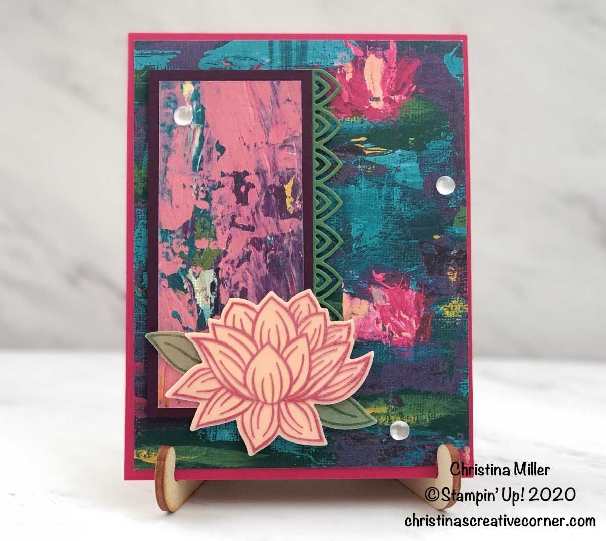 All Occasion Lovely Lily Pad Card