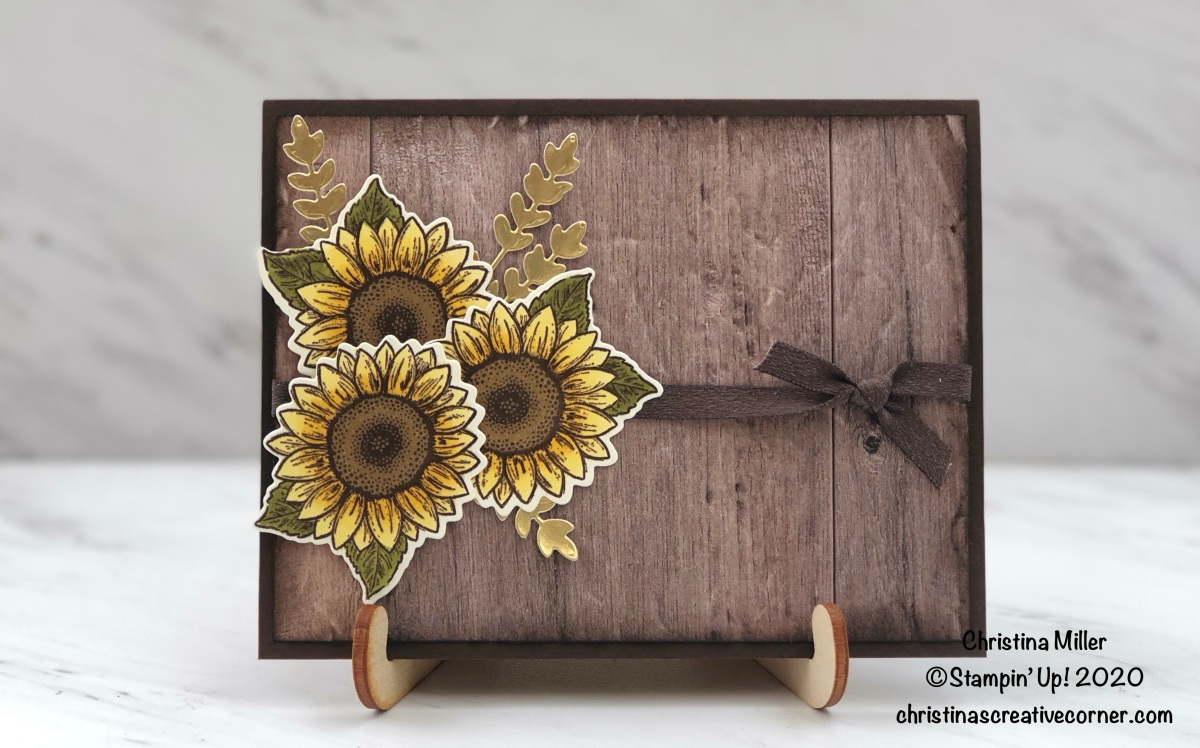 Celebrate Sunflowers thank you card!