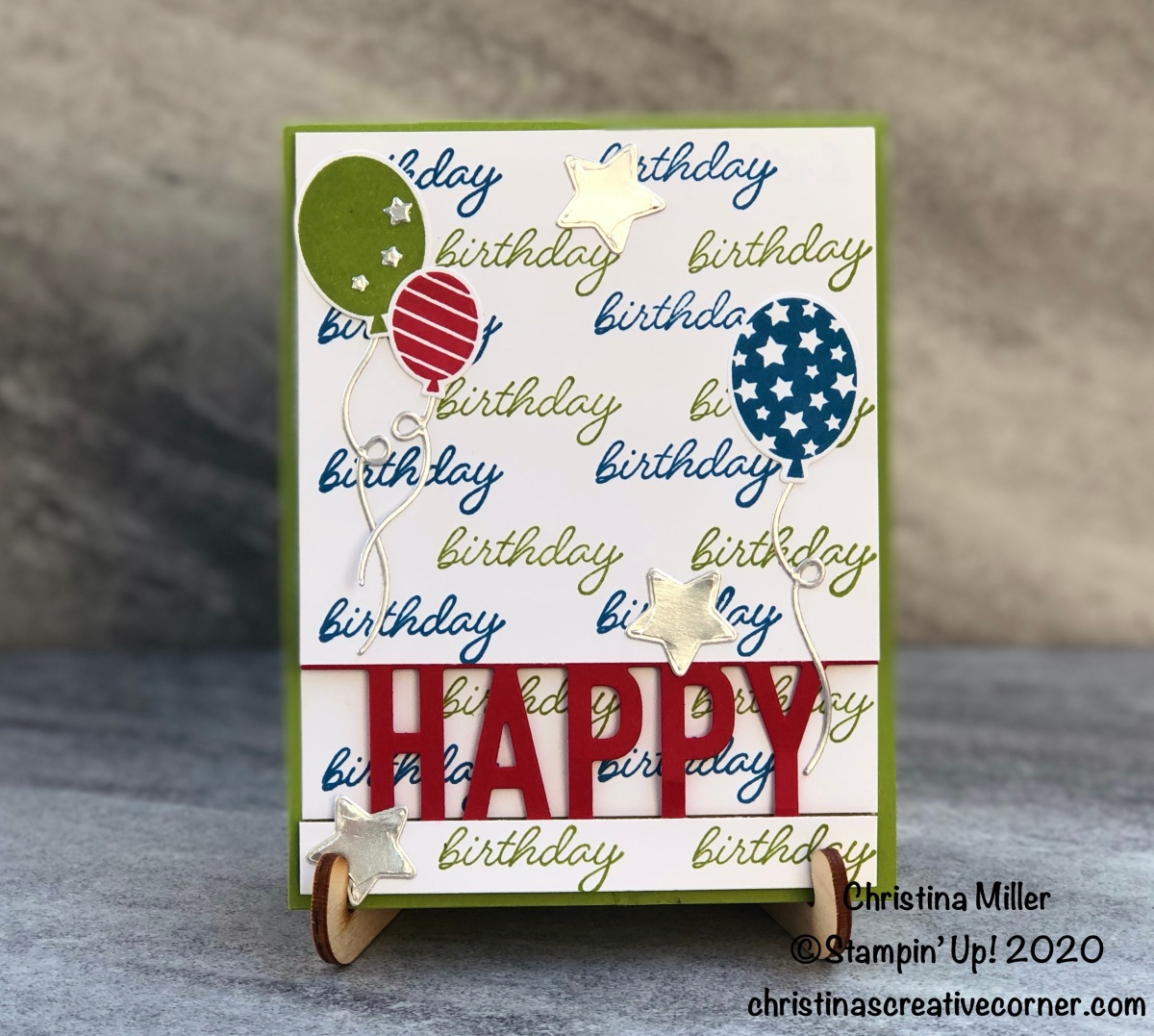 So Much Happy Birthday Card Week!
