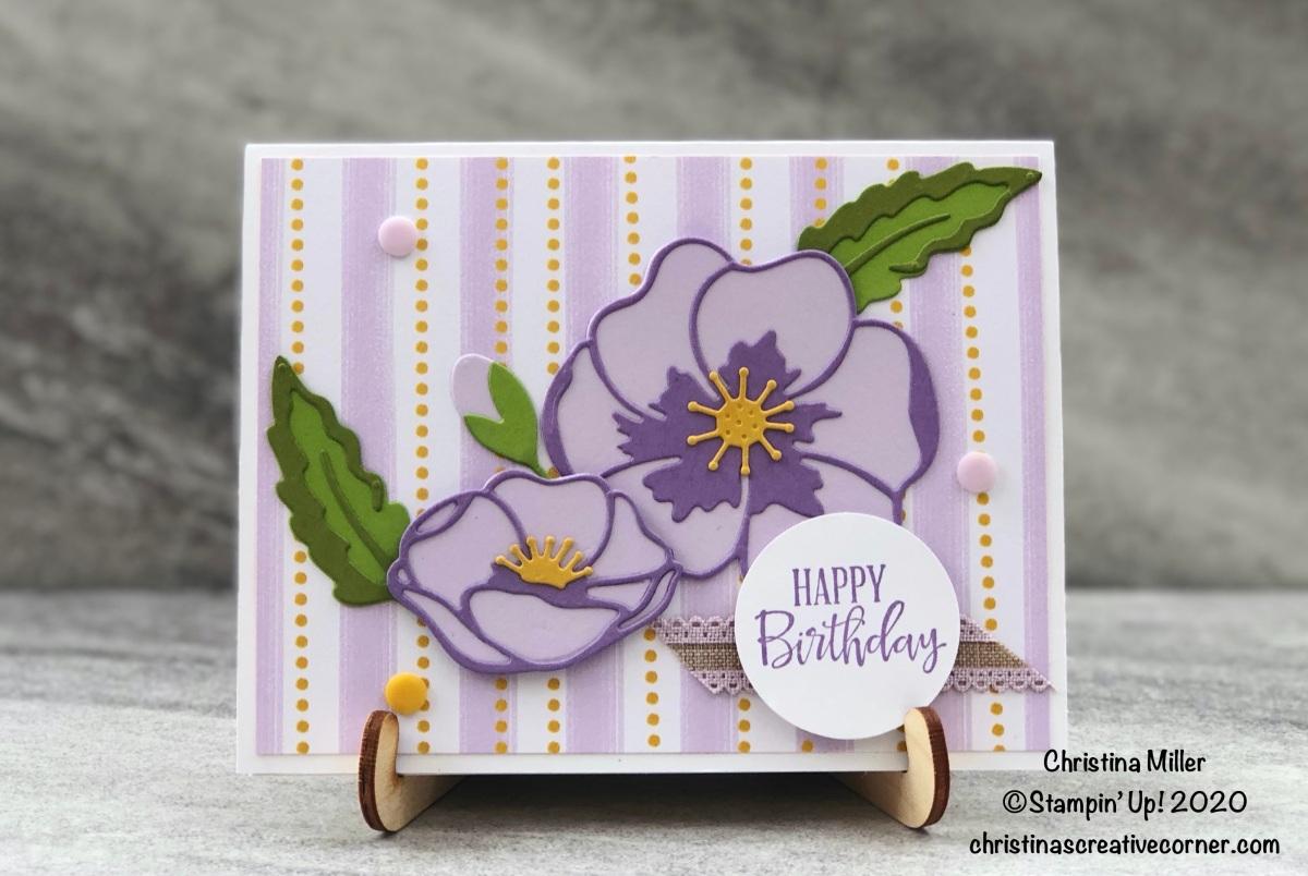 Purple Posy PoppyBirthday!