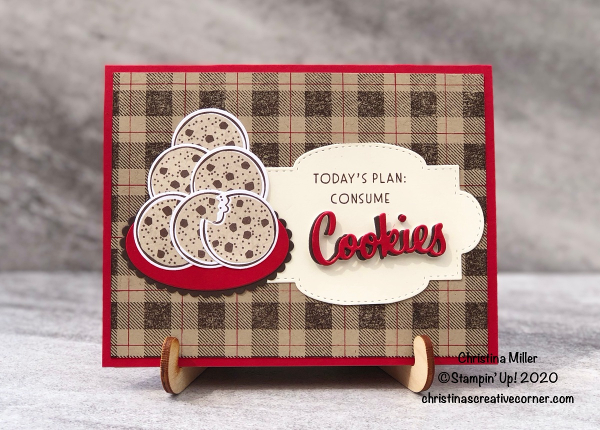 It's a cookie kind ofday!