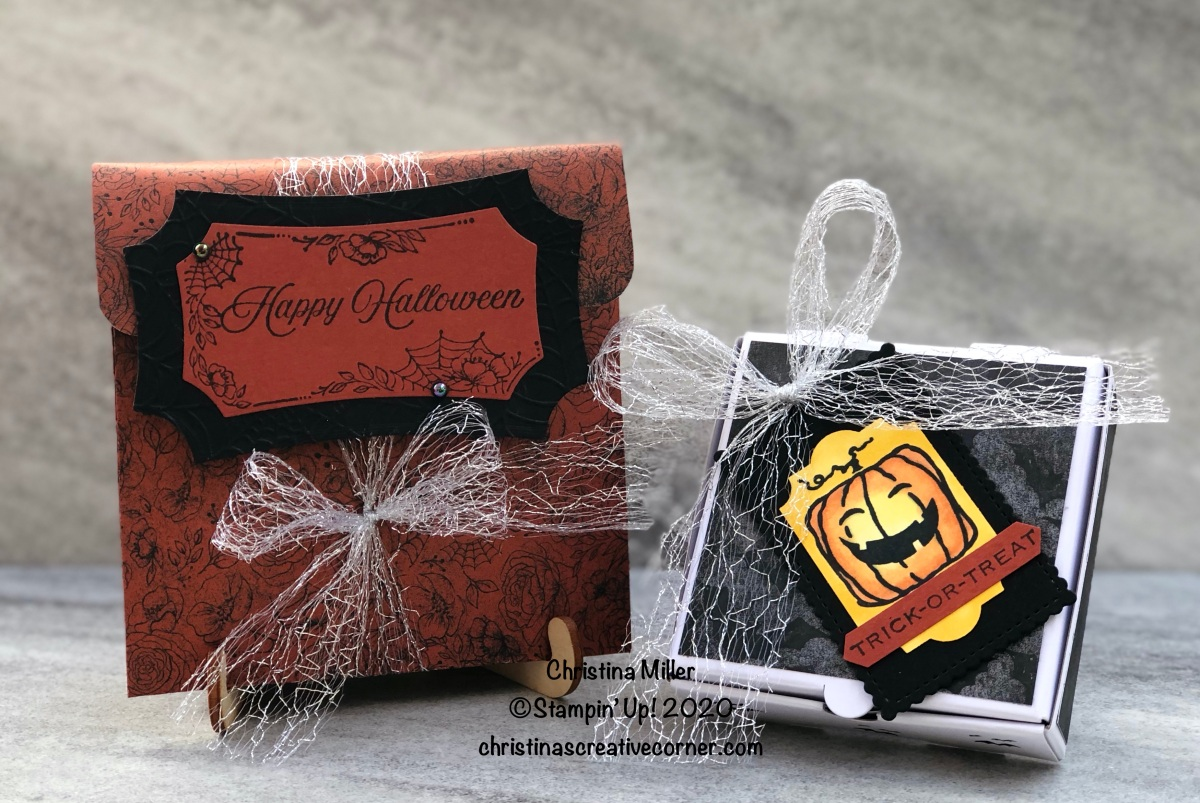 Two fun ways to package Halloween treats!