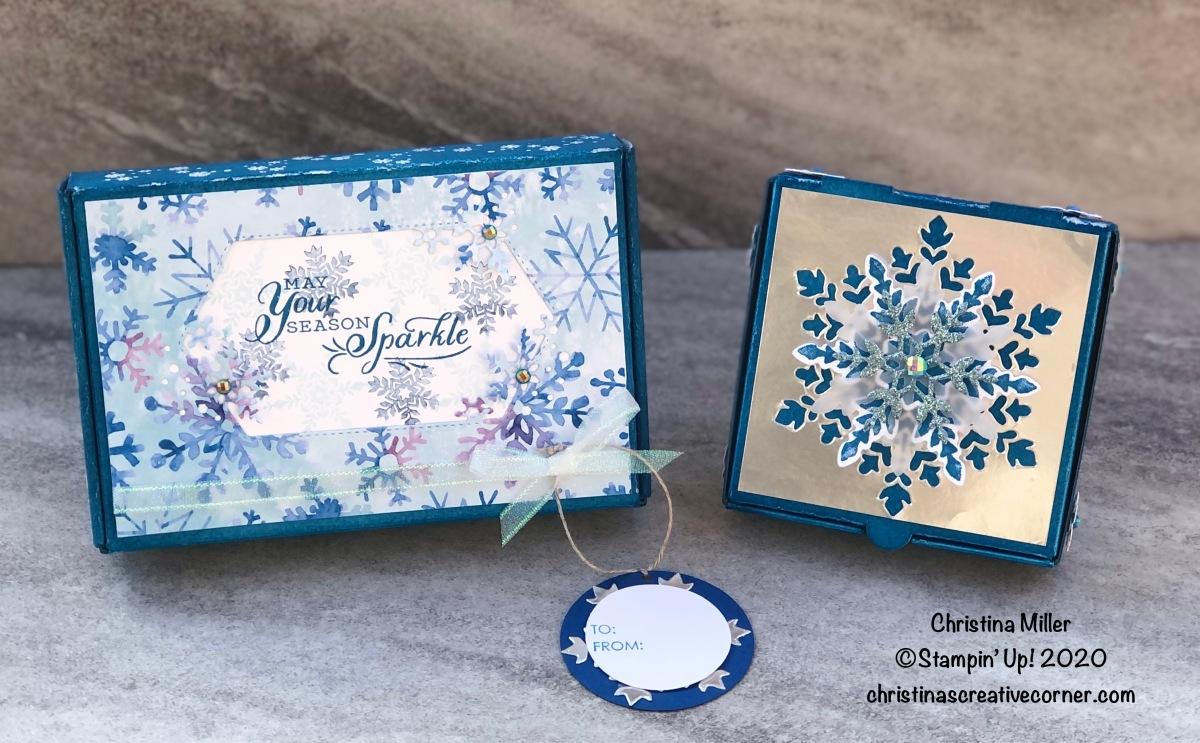 Mini Christmas giftboxes!