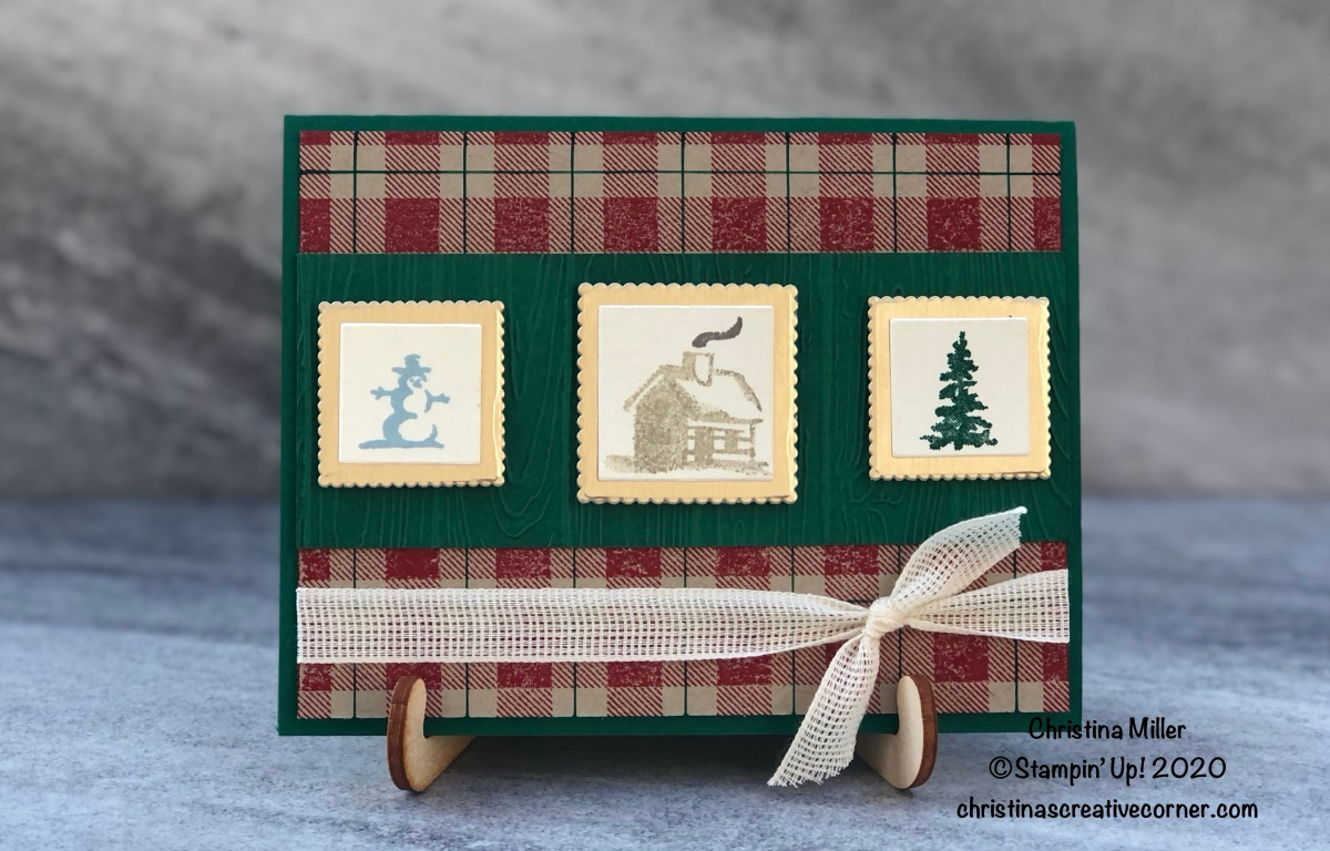 Rustic themed Christmas card!