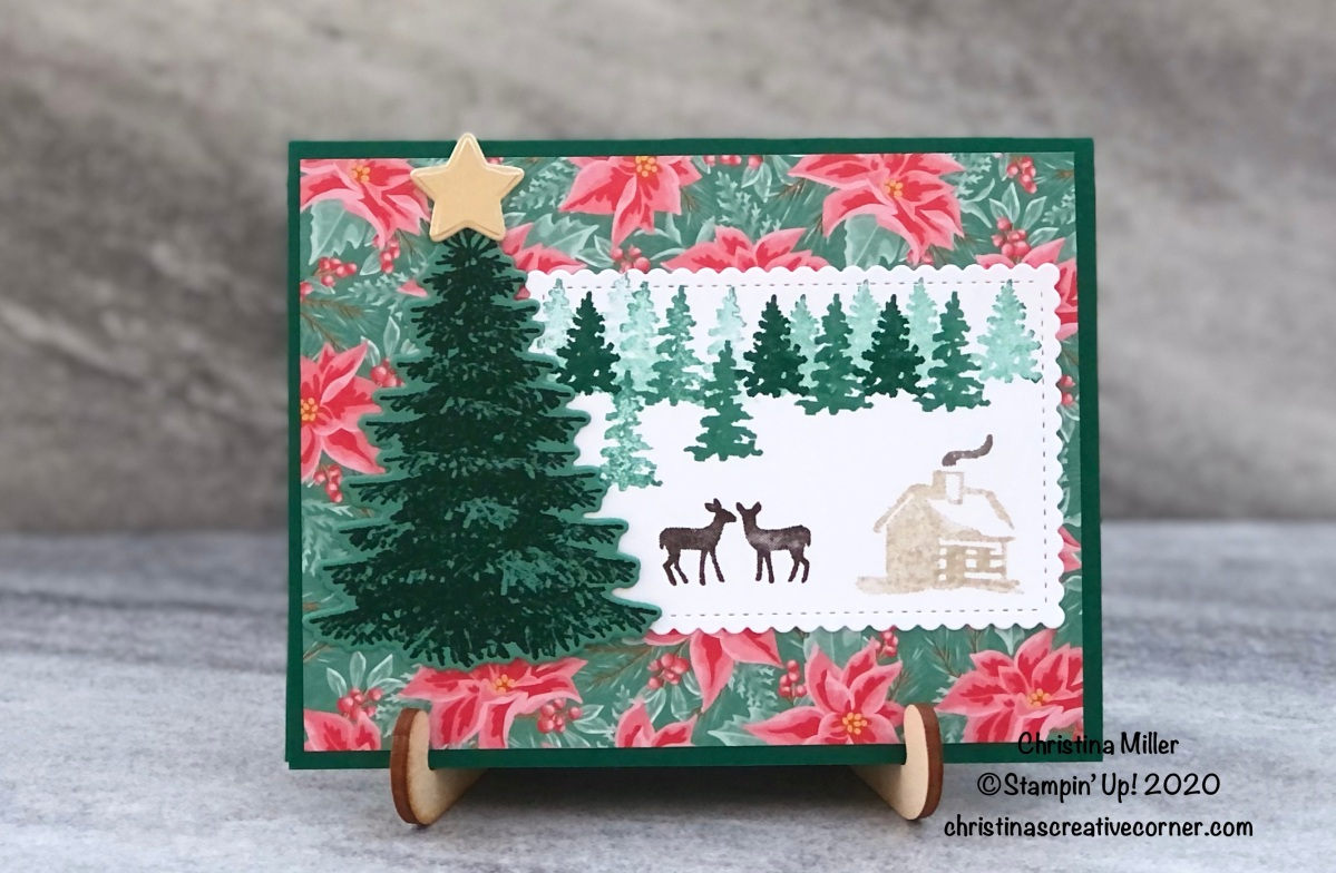 Quick and easy Christmascard!