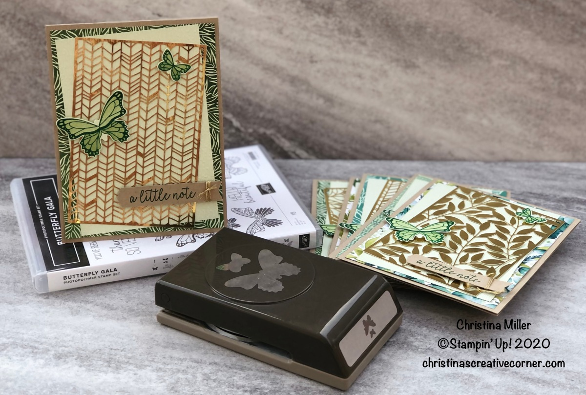 Fun and easy cards with Forever Gold Laser-Cut SpecialtyPaper
