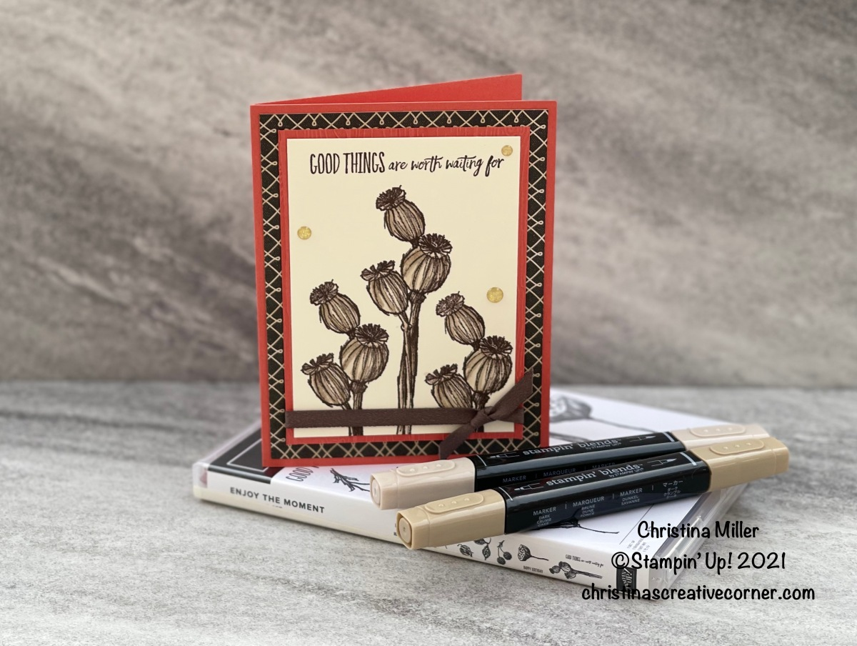 Enjoy the Moment and True Love Designer Series Paper!
