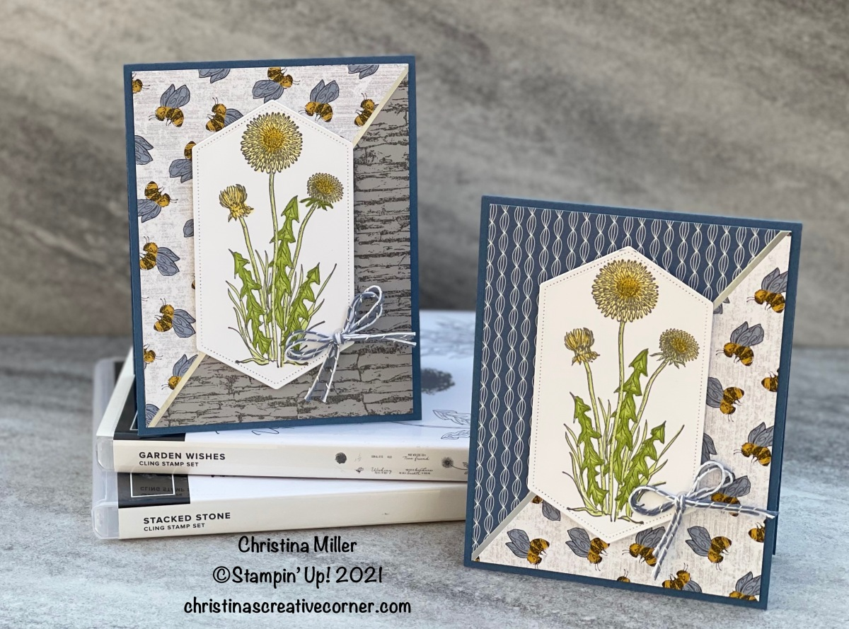 Garden Wishes Bundle and the Dandy Garden Designer Series Paper –P2