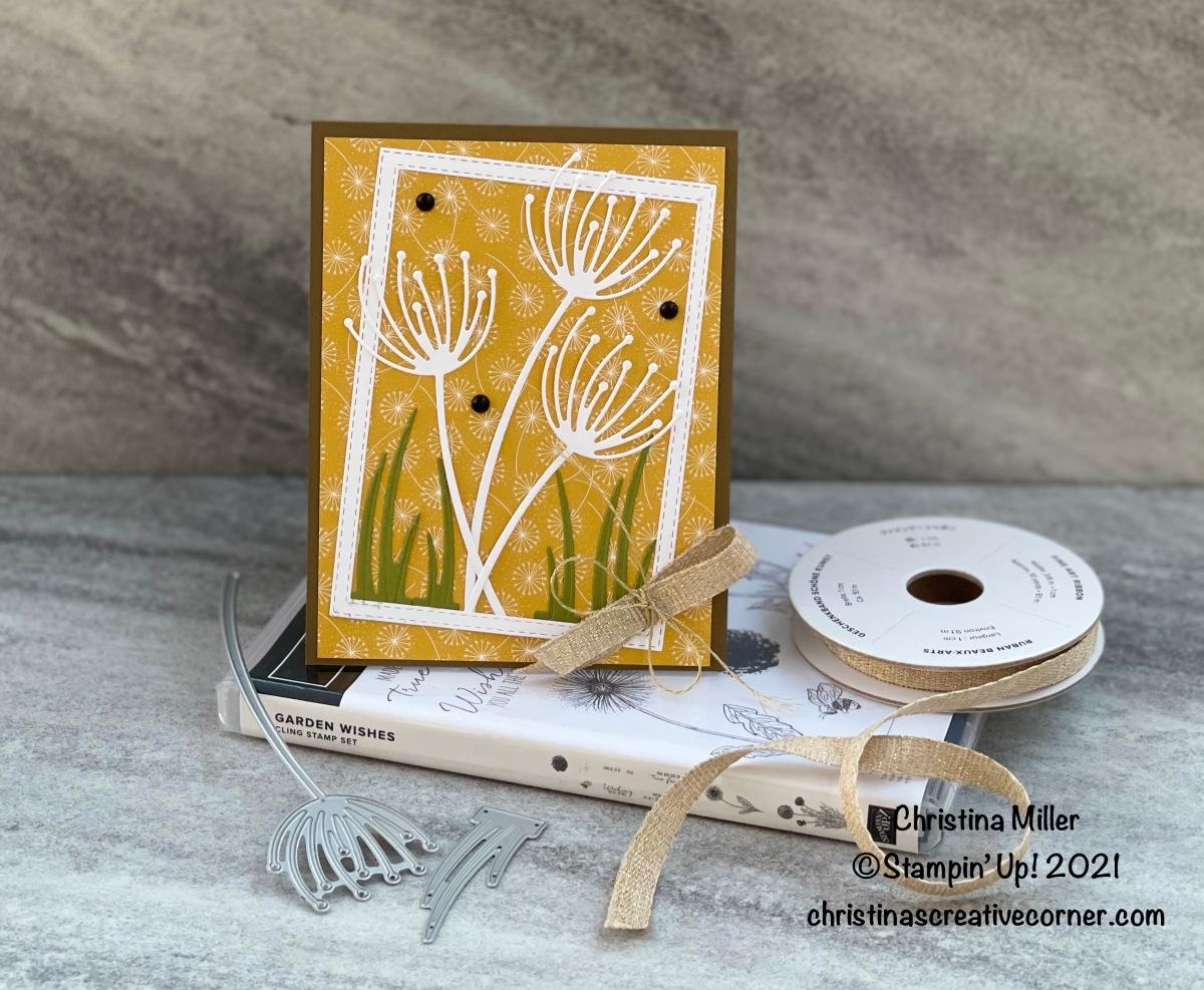 Garden Wishes Bundle and the Dandy Garden Designer SeriesPaper!