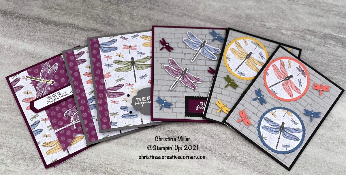 Dragonfly Garden Bundle and the Dandy Garden Designer SeriesPaper!