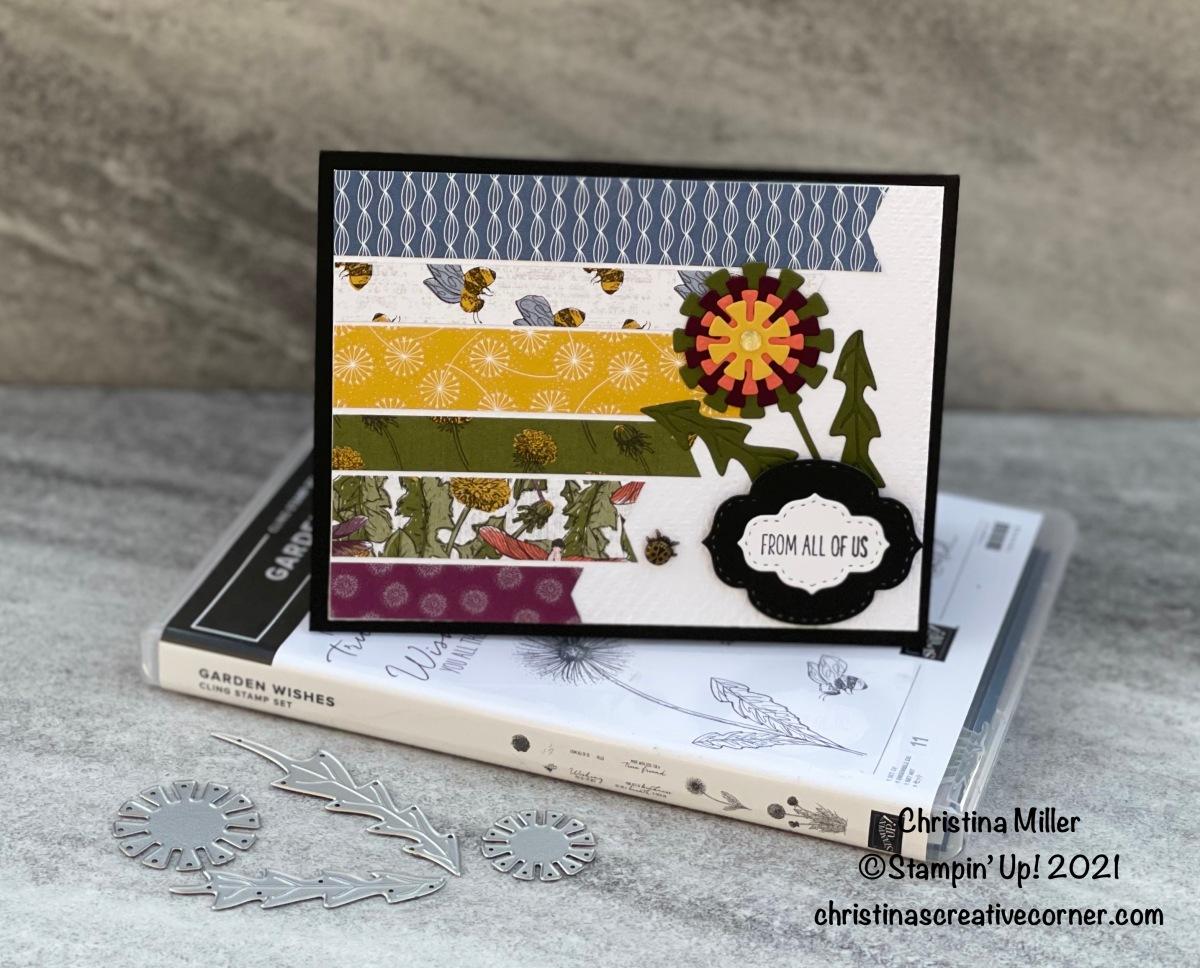 Garden Wishes Bundle and the Dandy Garden Designer Series Paper –P3