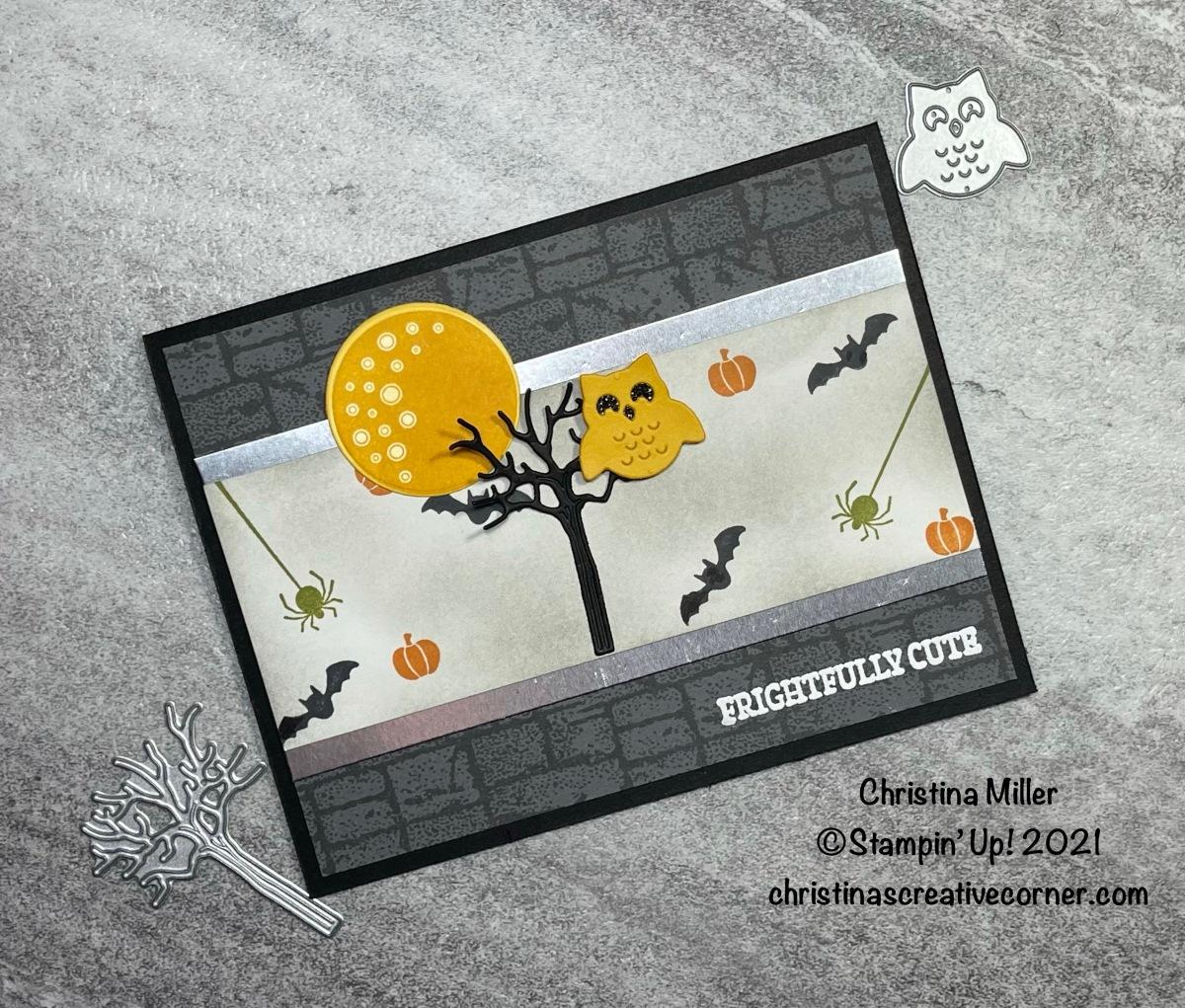 A Frightfully Cute HalloweenCard!